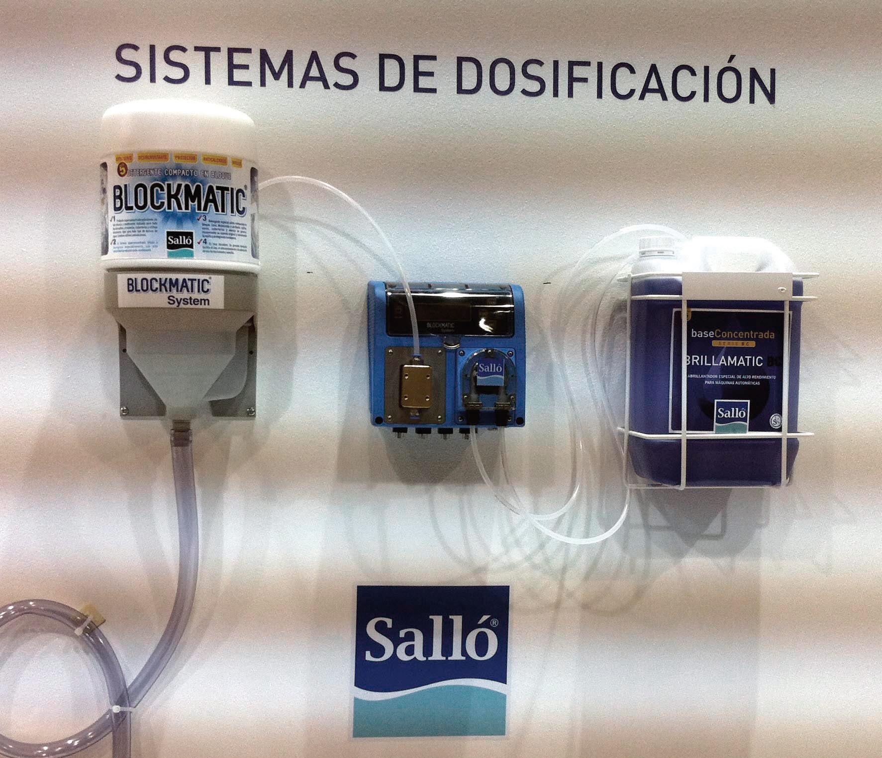 sistema dosificación