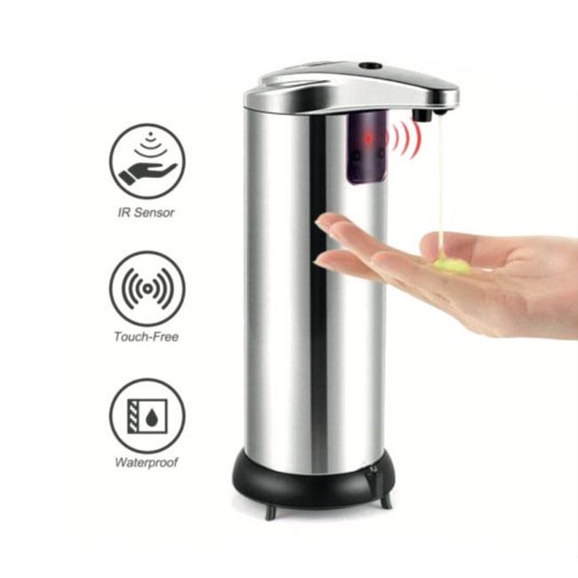 Dispensador de gel de sobremesa con sensor eléctrico