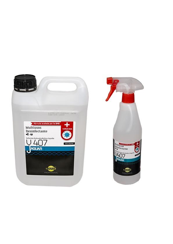 desinfectante jaguar v407